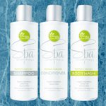 Suncare Ingredient Image: Natural Tone Organic Skincare Bath & Body Set