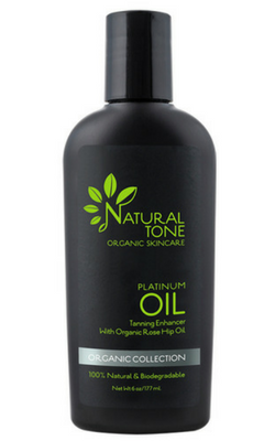 Natural Tone Organic Skincare Platinum Oil