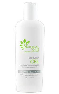 Natural Tone Organic Skincare Recovery Gel